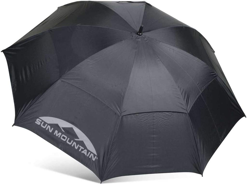 Sun Mountain 68'' Auto-Open Umbrella Black 68''