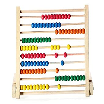 Sealive Classic Wooden Abacus for Kids Math, Educational ...