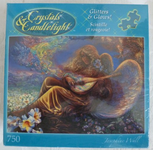Crystals and Candlelight-Angel Melodies 750 Piece Jigsaw Puzzle