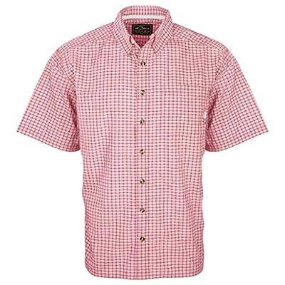 Drake Men's Featherlite Check Short Sleeve Shirt