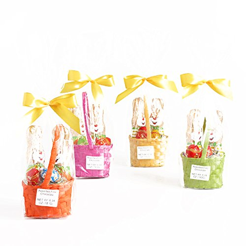 Riegelein Milk Chocolate Egg and Bunny Basket 6.3 oz each (3 Items Per Order, not per case)