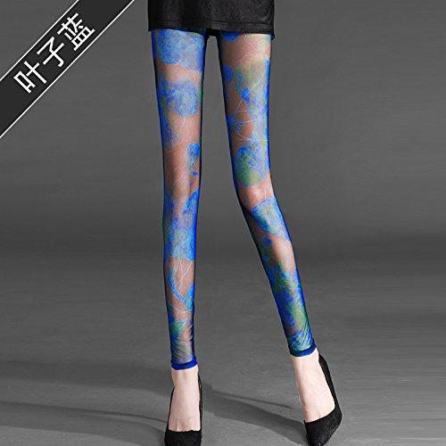 GaoXiao tissus à point de gaze, slips, les pantalons, neuf paires de pantalons, de sécurité pantalon et lumière preuve pantalon,s leaf bleu