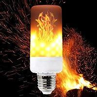 Alevli Led Ampül Alev Ateş Efektli Lamba