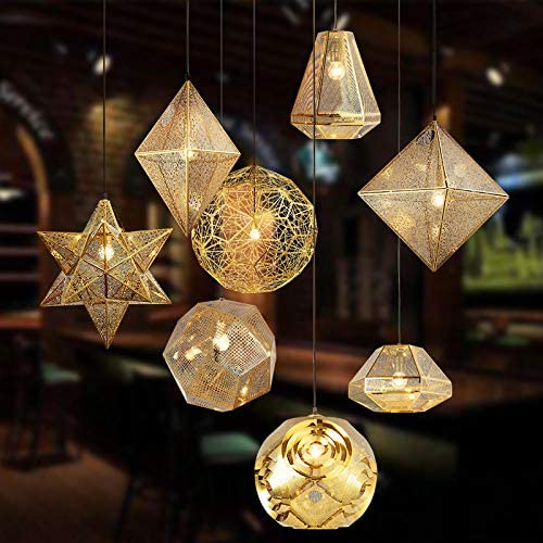 Led Emergency Smart Bulb Creative Personality Engineering Decoration Hotel Restaurant Stairs Clothing Store Designer Hanging Lamps