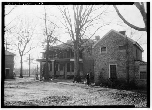 Photo: Dr. E.W. Daugette House,601 North Pelham Road,Jacksonville,Calhoun Co,Alabama,3 (Pelham Jobs)