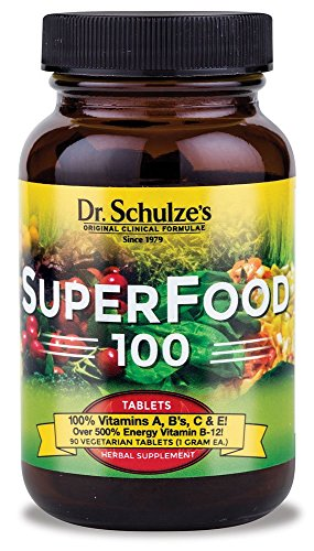 Dr Schulzes SuperFood 100 90 ct tablets