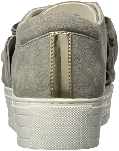 Cole Grey Ruffle Dust New Sneaker Ashlee York Detail Women's Kenneth Platform gqdf6w4gx