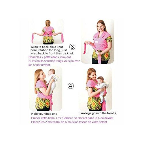 BEBEMOOI Echarpe de portage porte bébé coton naturel Echarpe de portage  Mixte Beige  Amazon.fr  Bébés   Puériculture 20c8596caf7