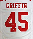 "Archie Griffin Autographed Ohio State Buckeyes White Jersey ""HT 1974 / 75"" PSA/DNA"
