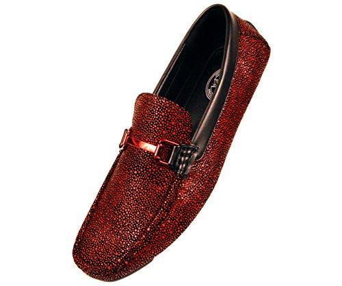 Amali Metallic Speckled Loafer Driving