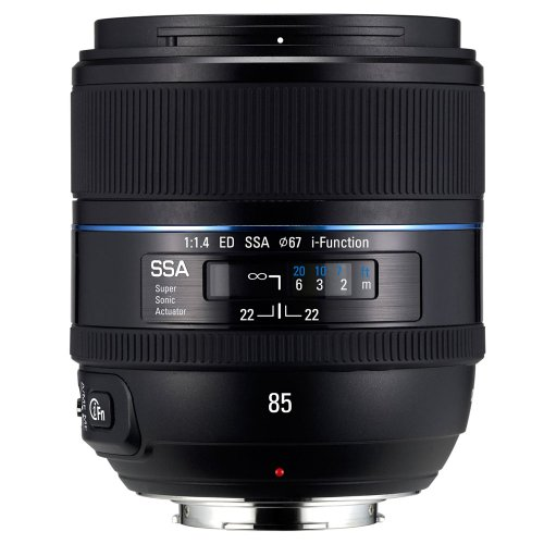 Samsung NX 85mm f/1.4  Camera Fixed Lens by Samsung