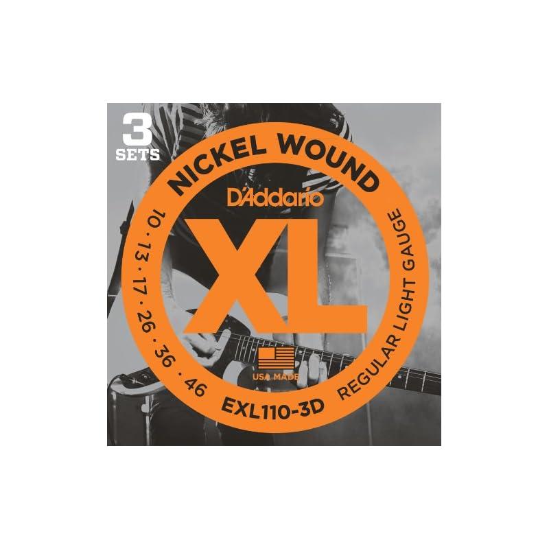 D'Addario EXL110-3D XL Nickel Wound Elec