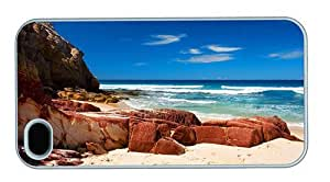 Hipster discount iPhone 4 case Rocky Beach PC White for Apple iPhone 4/4S