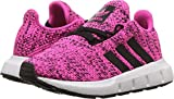 adidas Originals Kids Baby Girl's Swift Run INF (Toddler) Shock Pink/Black 8 M US Toddler M