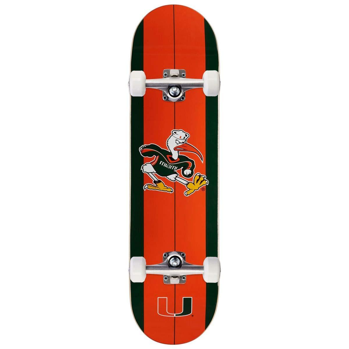 7.75 Rout Supply Co University of Miami Sebastian Skateboard Complete