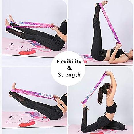 Yogamatte Tragegurt Verstellbar Schulter-Riemen Training Fitness Bunte