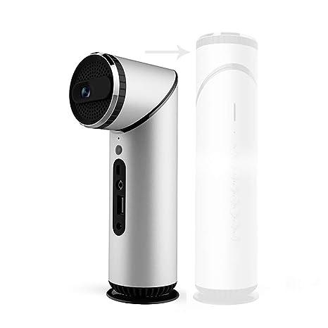 Amazon.com: YTBLF Mini proyector portátil de 90 grados lente ...