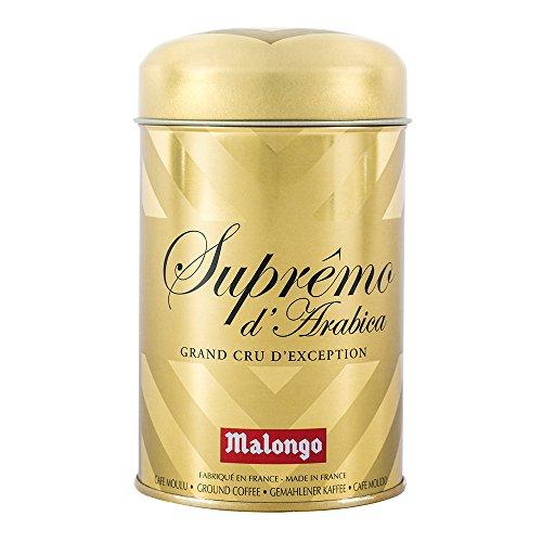 Café Malongo Café Molido Supremo de Arábiga, 250 g