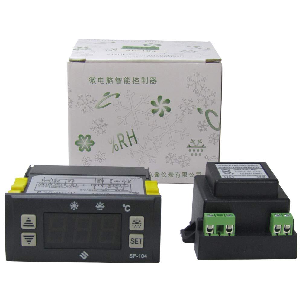 SF-104 Digital Display Thermostat Temperature Controller Temperature Regulator (110V)