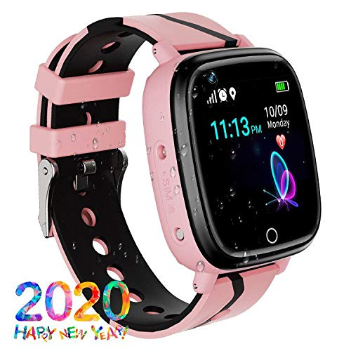 GPS Children's Watches Phone, Sports Smart Watches for 4-15y Boys and Girls, HD Touch Screen Smartwatch Phone Real-time…