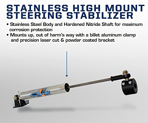 (Carli Suspension 03-12 Dodge Ram High Mount Steering Stabilizer T-Style)