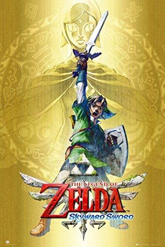 Legend Of Zelda Skyward Sword Poster Print By  24 X 36