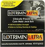 Lotrimin Ultra Antifungal Jock Itch Cream (Butenafine Hydrochloride Cream 1%) .42 oz (12 g), Health Care Stuffs