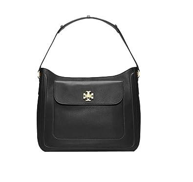 5f0d45814fa Amazon.com  Tory Burch Mercer Slouchy Hobo Shoulder Black Bag  Shoes