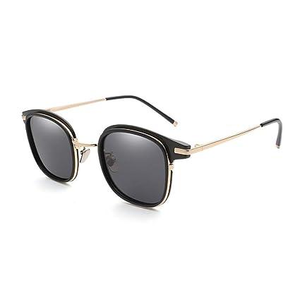 DingXW Nuevo diseño Vintage Retro Gafas de Sol cuadradas ...