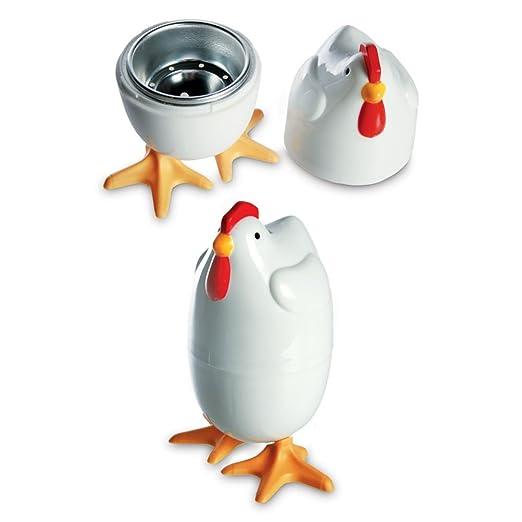 8 x COCEDOR de huevos microondas-cocina de huevo pollo ...
