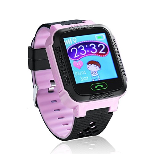 SinoPro Children Smart Watch with GPS/GSM Double Mode Positioning 1.44