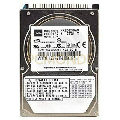 Toshiba MK2023GAS 20GB Hard Drive
