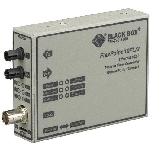 Thinnet Ethernet - Black Box Media Converter ThinNet Ethernet Single Mode 1310nm 30km ST