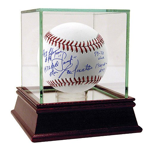 Lou Piniella Autographed Mlb Baseball (Lou Piniella Autographed MLB Baseball with Sweet .292 Lifetime BA 1972 All Star 77-78 WSC 1969 AL ROY Inscription - Certified Authentic Autograph)