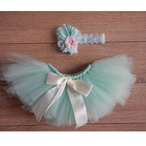 Fashion Unisex Newborn Girl Baby Outfits Photography Props Headdress Tutu Skirt