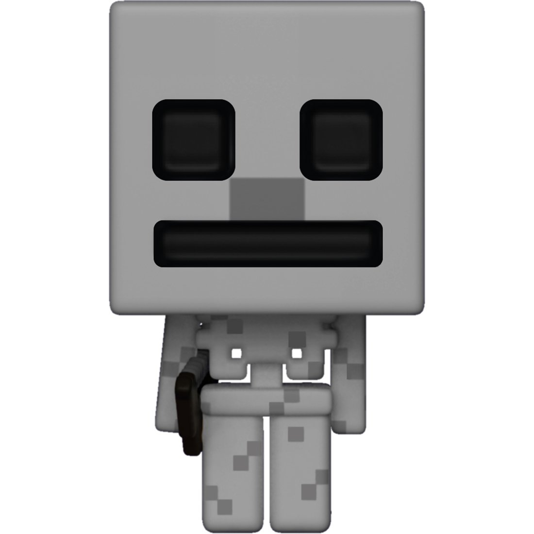 BCC9PK52 #319 Games x Minecraft Vinyl Figure Funko Skeleton POP 1 Video Games Themed Trading Card Bundle