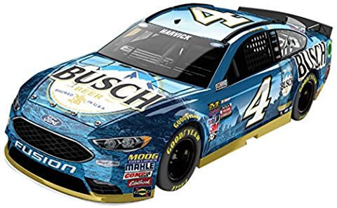 Lionel Racing Kevin Harvick # 4 Busch 2017 Ford Fusion 1:24 Scale ARC Color Chrome HOTO Official Diecast of the Monster Energy NASCAR Cup Series