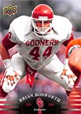 Brian Bosworth football card (Oklahoma Sooners) 2011 Upper Deck #44 1984-1986 Linebacker