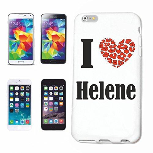 """Handyhülle iPhone 6S """"Helene"""" Hardcase Schutzhülle Handycover Smart Cover für Apple iPhone … in Weiß … Schlank und schön, das ist unser HardCase. Das Case wird mit einem Klick auf deinem Smartphone be"""
