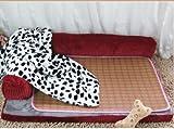 Petacc-Dog-Bed-Detachable-Dog-Sofa-Pet-Crate-Pad-Blanket-PillowSummer-Sleeping-Mat