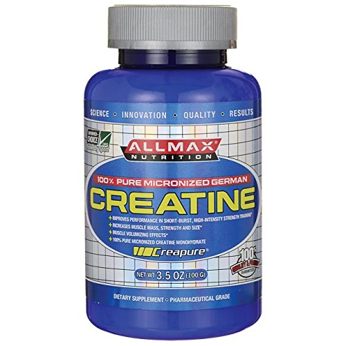 Allmax Nutrition 100% Pure Micronized German Creatine 3.5 oz (100 grams) Pwdr