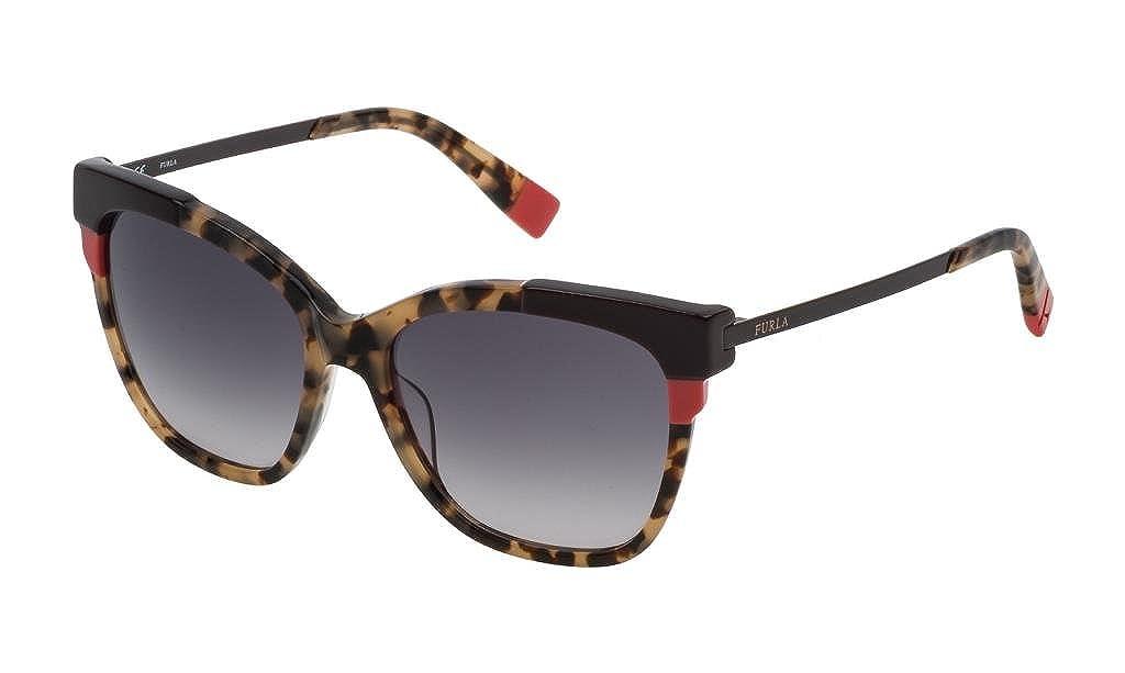 Furla Gafas de sol - para mujer Havana-marrone 55: Amazon.es ...