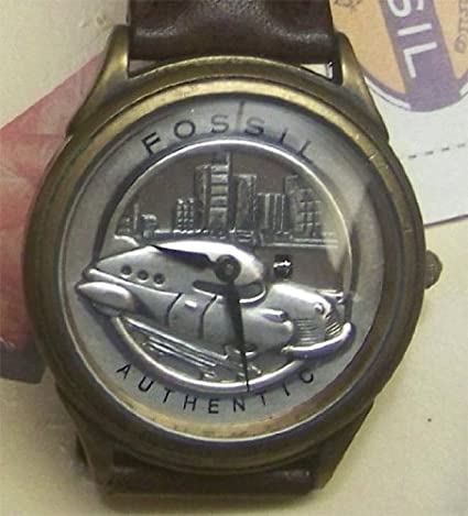 Amazon.com: Fossil cruise-o-matic Reloj Set Edición Limitada ...