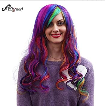 Amazon Com Cartoon Characters Wig Women Girls Female Long