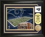 St. Louis Rams Single Coin Stadium Photo Mint