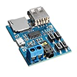 ILS - 10 pieces MP3 Lossless Decoder Board With Power Amplifier Module TF Card Decoding Player