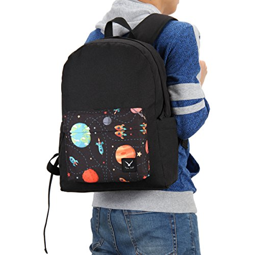 Hynes Eagle Chic School Backpack (Planet)