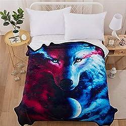 Luxury Skull Blanket 3D Printed Soft Lightweight Bedding Set Floral and Skull Trow Blanket Velvet Flannel Fleece Blanket for Sofa and Bed (Black, White)