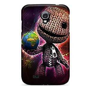 Excellent Galaxy S4 Case Tpu Cover Back Skin Protector Sackboy World