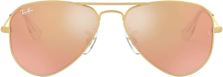 Ray-Ban JUNIOR 0rj9506s Gafas de sol, Matte Gold, 50 Unisex-Niño